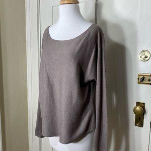 Vince Tan cashmere blend scoop neck sweater